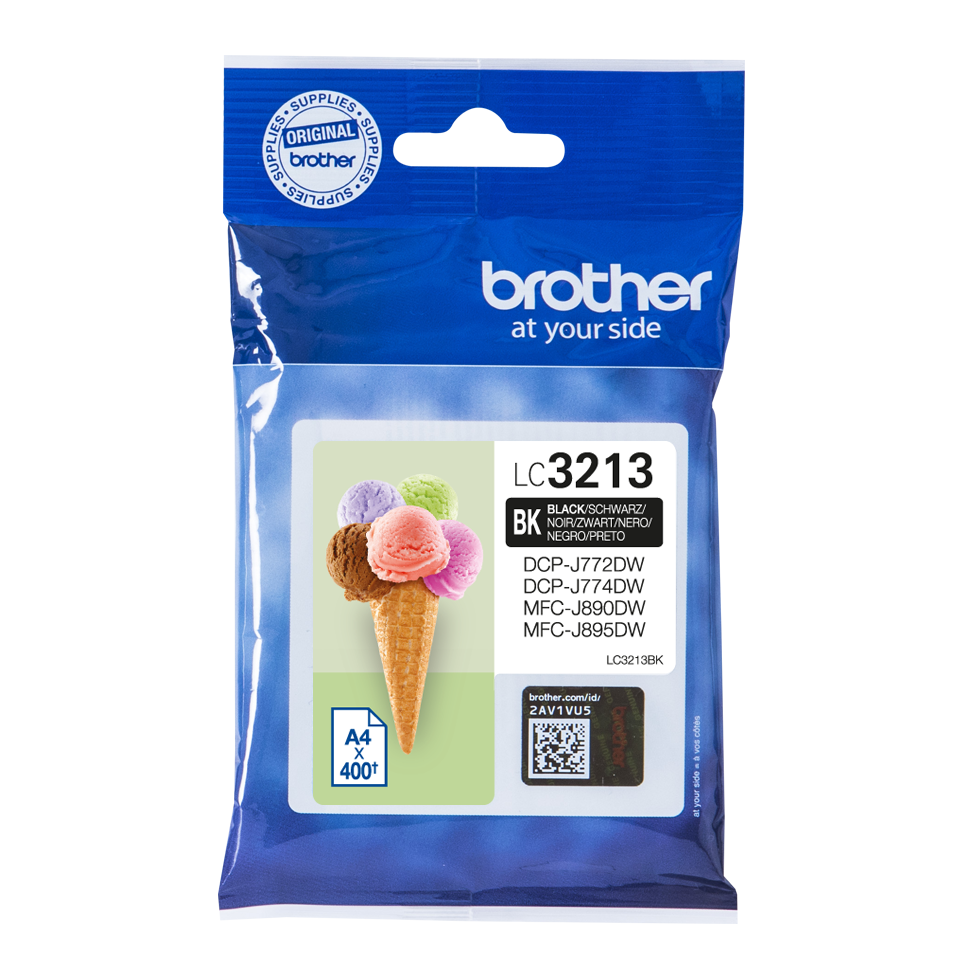 Cartucho Brother LC3213 negro