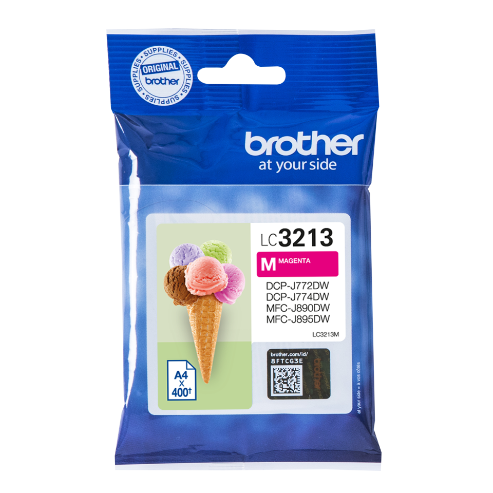 Cartucho Brother LC3213 magenta