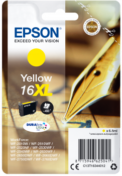 Cartucho original Epson 16XL amarillo