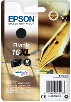 Cartucho original Epson 16XL negro