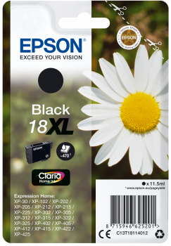 Cartucho original Epson 18XL negro
