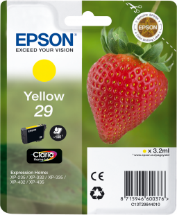 Cartucho original Epson 29 amarillo