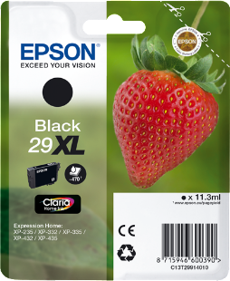 Cartucho original Epson 29XL negro