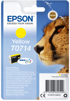 Cartucho original Epson T0714