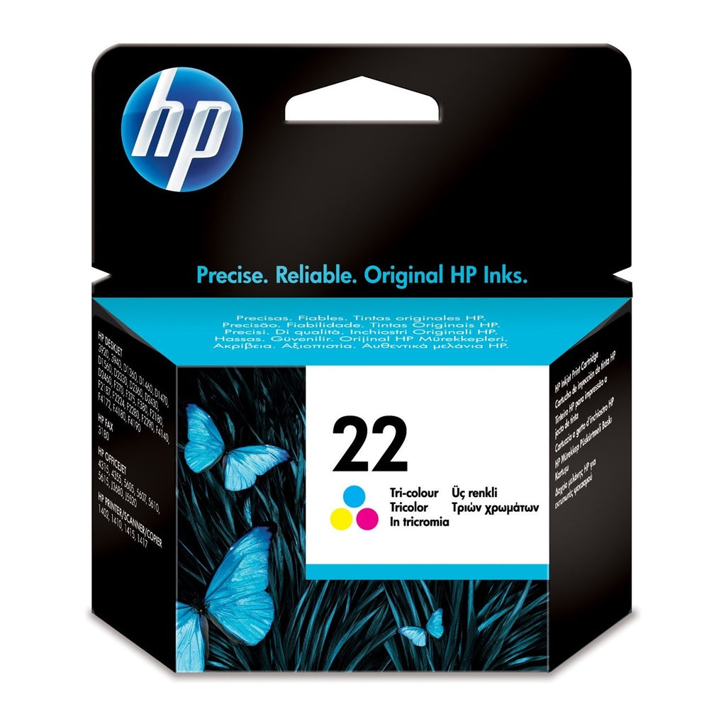 Cartucho de tinta original HP 22