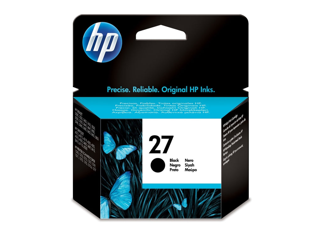 Cartucho de tinta original HP 27