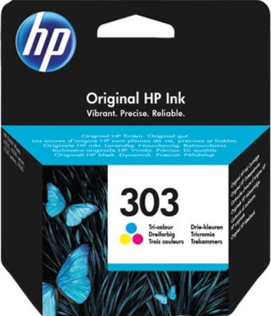 Cartucho original HP 303 tricolor
