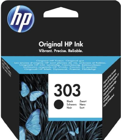 Cartucho original HP 303 negro