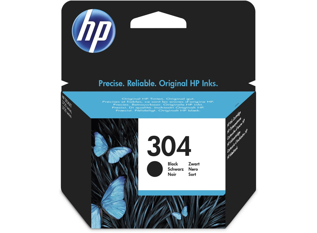Cartucho original HP 304 negro