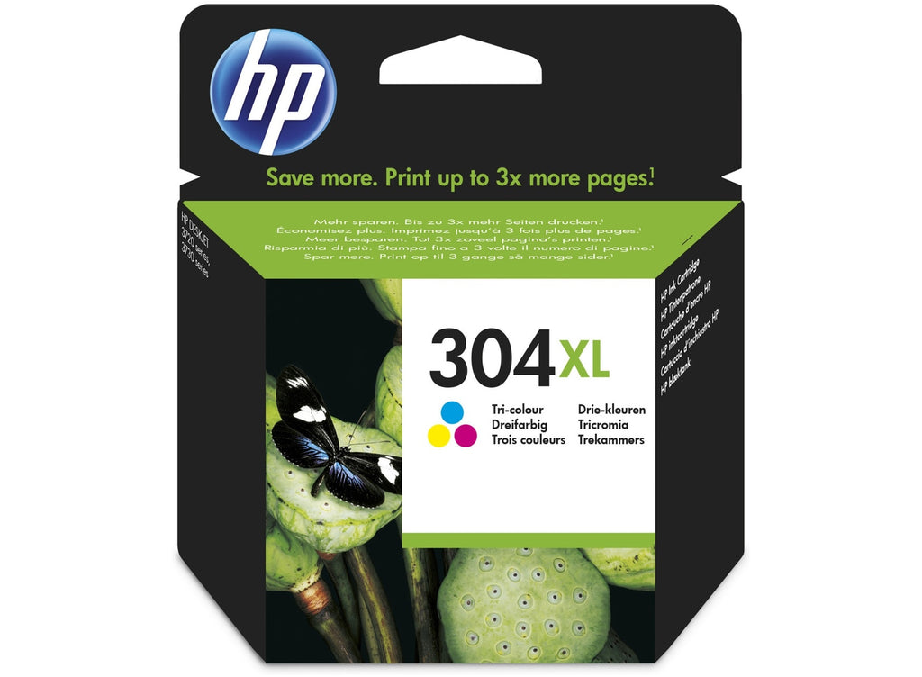 Cartucho de tinta original HP 304XL color