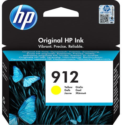 Cartucho HP 912 amarillo original