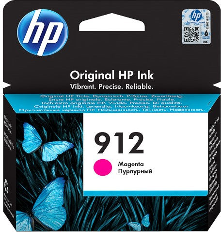 Cartucho HP 912 magenta original