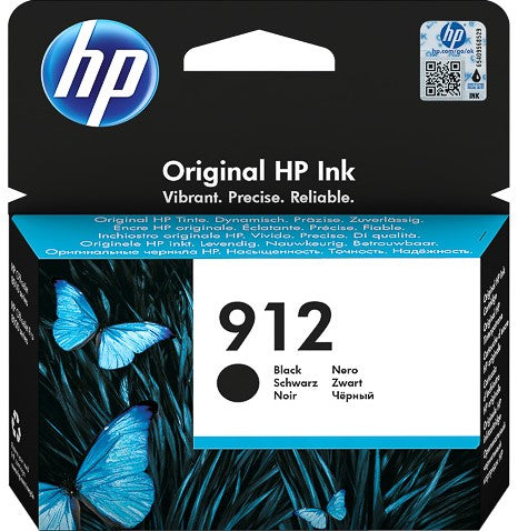 Cartucho HP 912 negro original