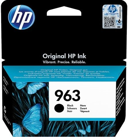 Cartucho original HP 963 negro
