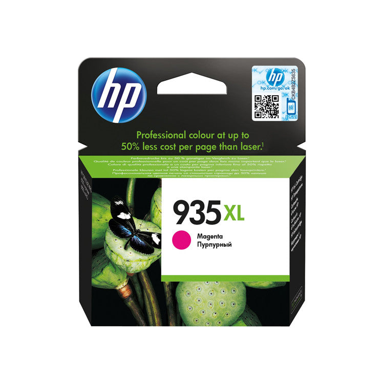 Cartucho de Tinta Original HP 935XL Magenta