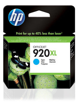 Cartucho HP 920XL Cian