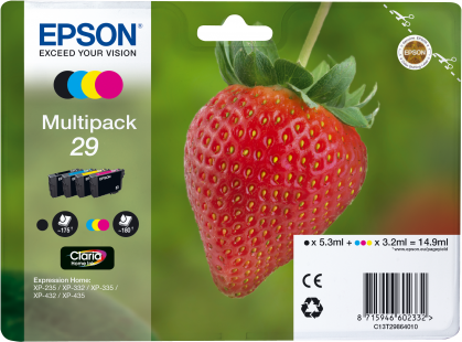 Multipack Epson 29 4 colores T2986