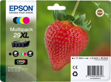 Multipack de tinta original Epson 29XL 4 colores