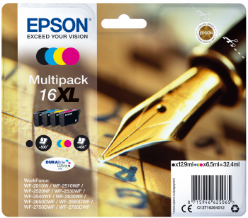 Multipack original Epson 16XL