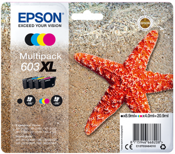 Multipack original Epson 603XL