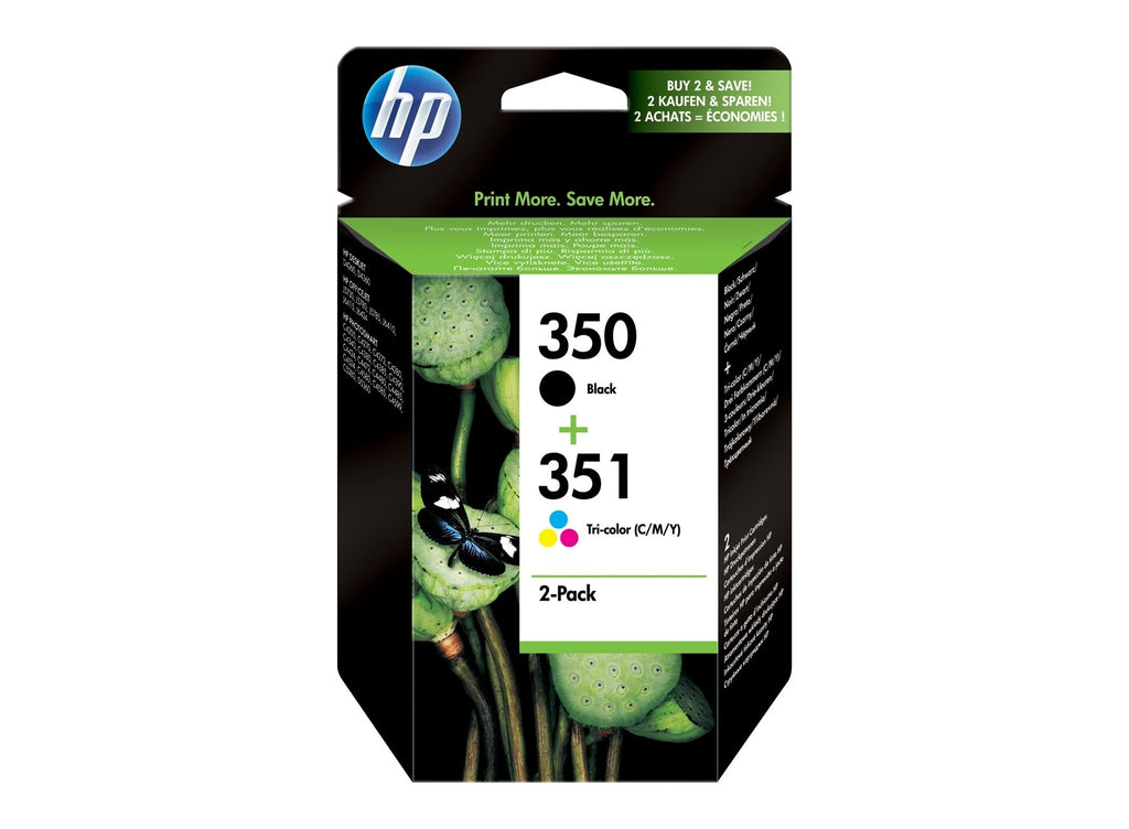 Pack de cartuchos hp 350 y 351
