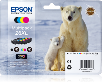 Multipack original Epson 26XL