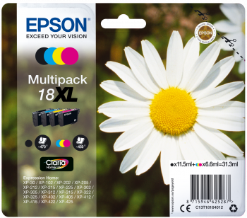 Multipack original Epson 18XL