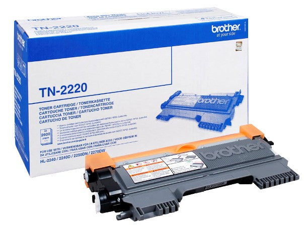 Cartucho de toner original Brother TN-2220
