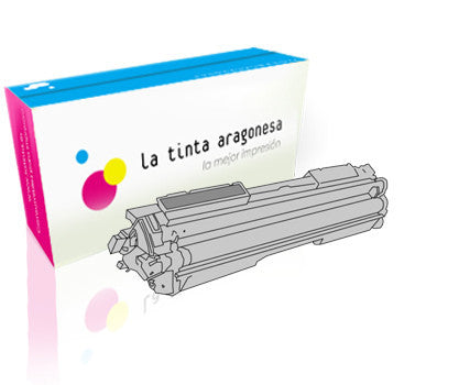 Toner HP 130A compatible color negro