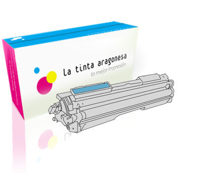 Toner HP 130A compatible color cían