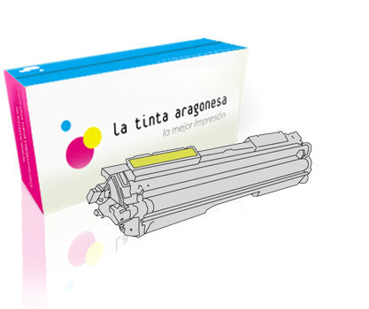 Toner HP 130A amarillo compatible
