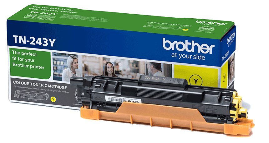 Toner original Brother TN243 amarillo