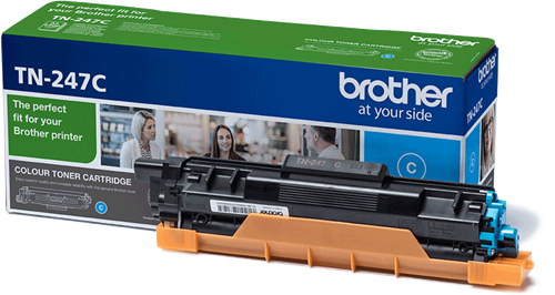Toner original Brother TN-247C cian