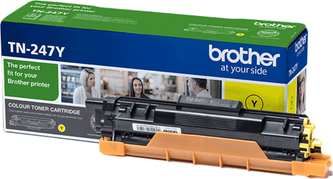Toner original Brother TN-247Y amarillo