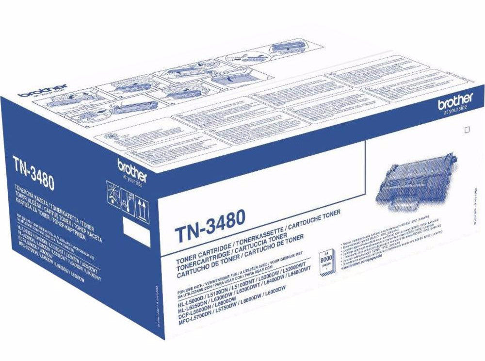 Toner original brother tn3480