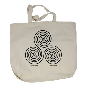 Triple Spirals Tote Bag
