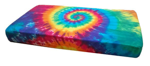 Rainbow Spiral Tie-Dye Infant Baby Crib Toddler Bed Fitted Sheet