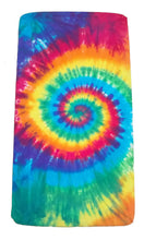 Load image into Gallery viewer, Rainbow Spiral Tie-Dye Infant Baby Crib Toddler Bed Fitted Sheet