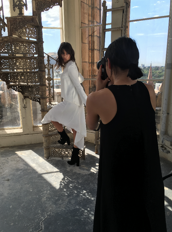 Behind The Scenes Shooting AW/16 image