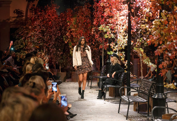 Kookai Autumn/Winter Runway Show featuring Kelly Gale