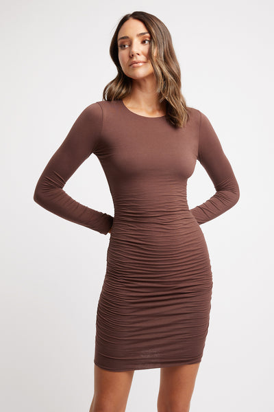 Rylie Long Sleeve Mini Dress