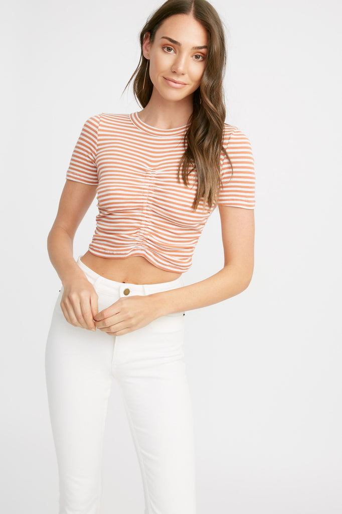 Pilla Rouched Crop