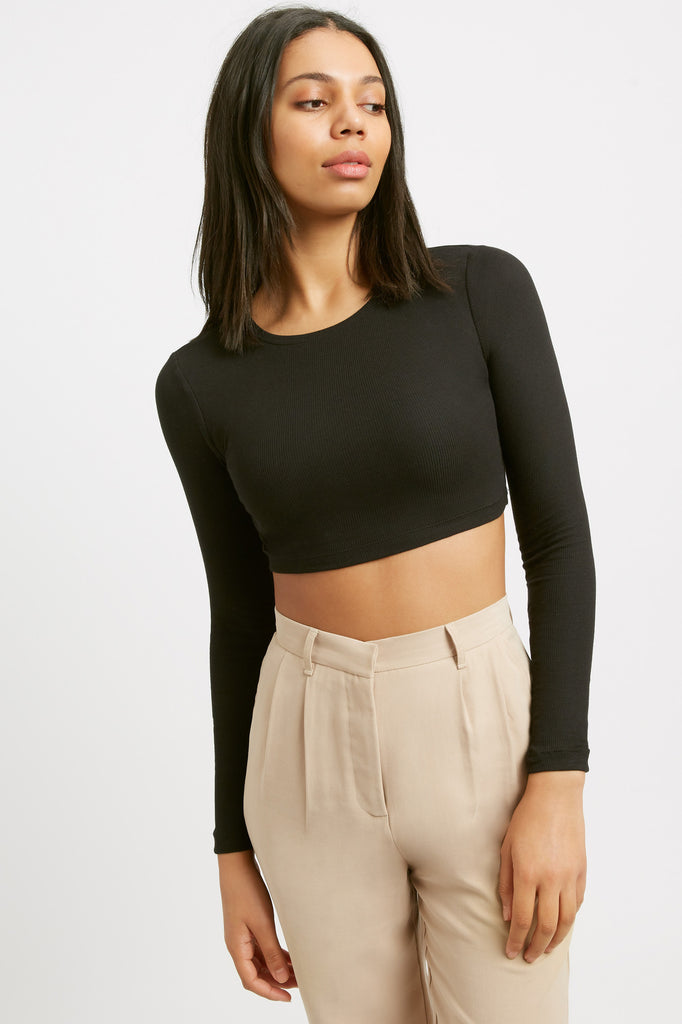 Casey Long Sleeve Crop