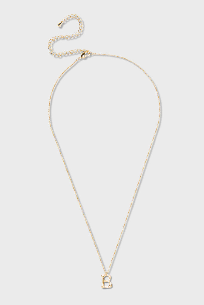 B - Initial Necklace