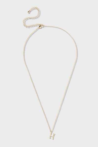 H - Initial Necklace