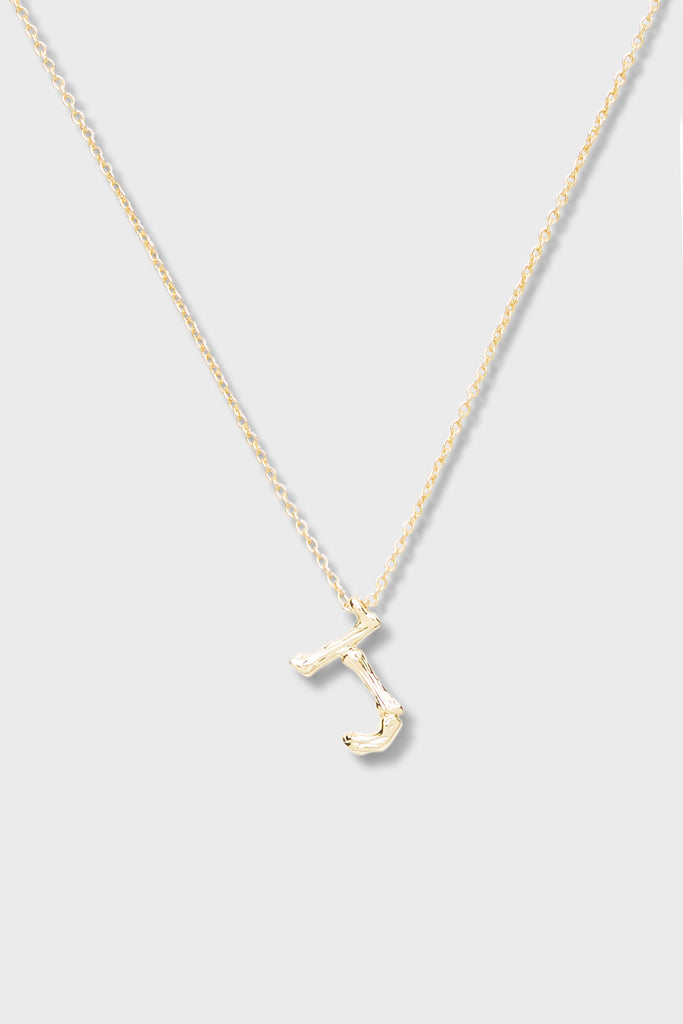 J - Initial Necklace