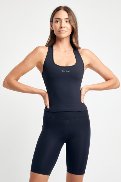 Stencil Active Scoop Top