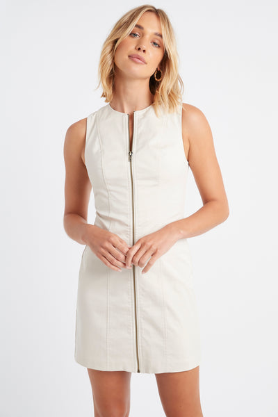 Stretch Serendipity Zip Dress