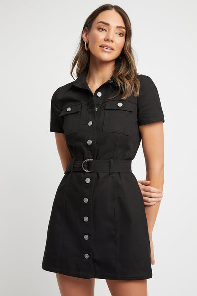 Dublin Belted D-Ring Dress