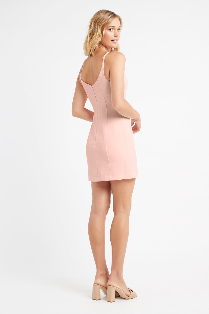 Oyster Scoop Neck Dress